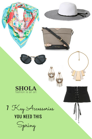 7 Key Accessories You Need This Spring | Shola Designs