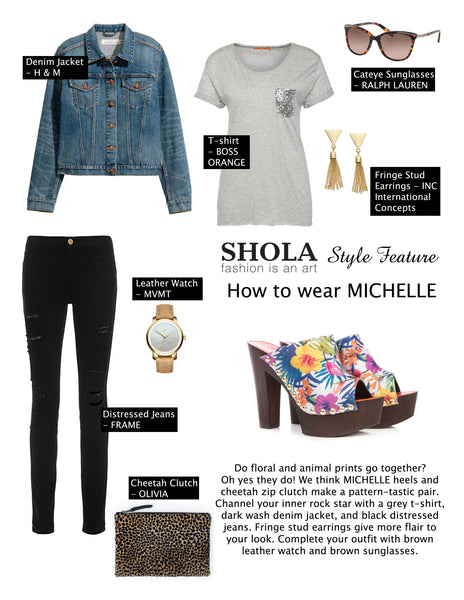 How To Toughen Up Florals | Shola Designs