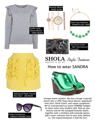 Style Feature: How to Wear Bright and Jewel Tones | Shola Designs