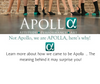 What's in a name? Well for us … A LOT! - We want to share the meaning behind our name with YOU!! | Apolla Performance
