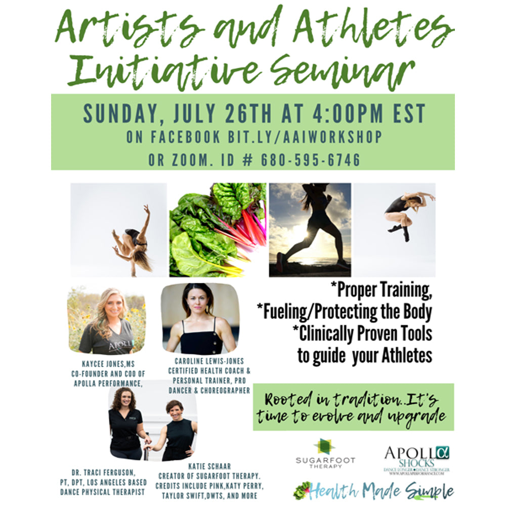 Artists and Athletes Initiative Seminar