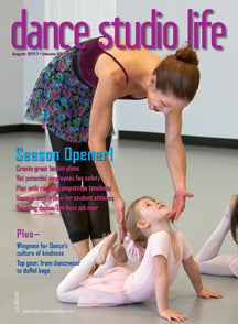 Apolla featured in Dance Studio Life Magazine