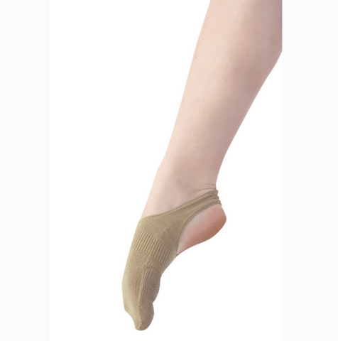dance sock with heal cut out