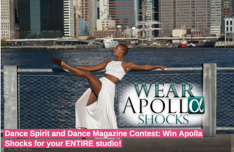 2ebba16b5caf Dance Spirit   Dance Magazine Contest  Win Apolla Shocks for your ...