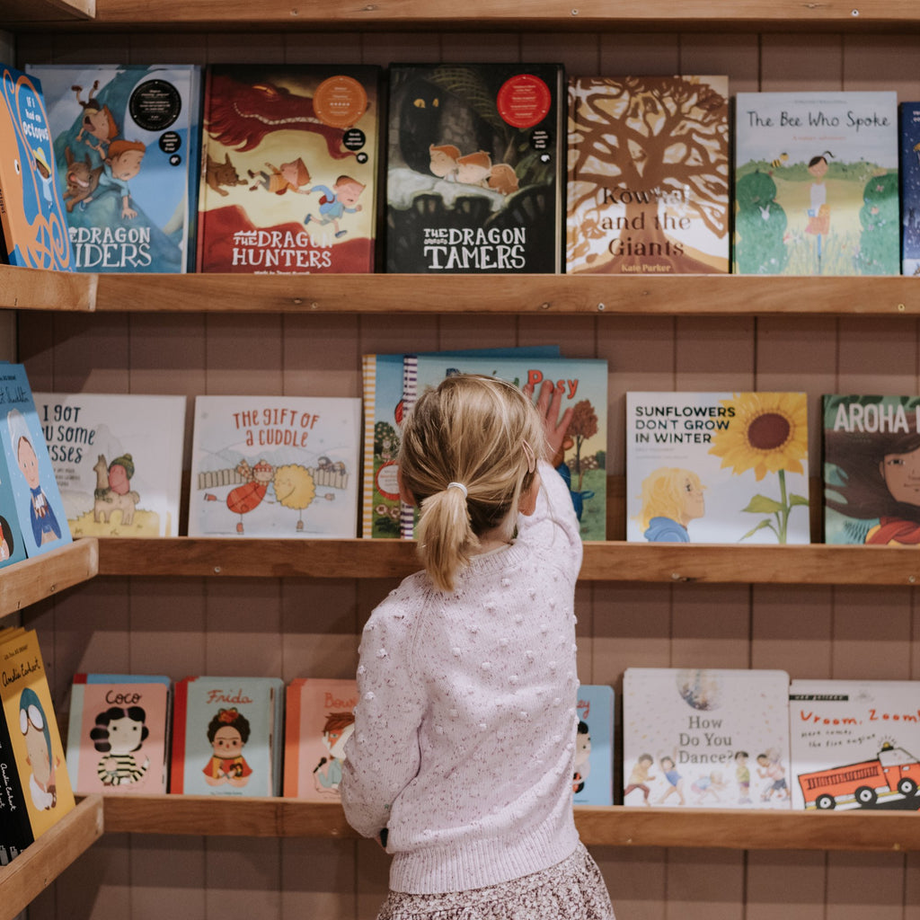 The Country Providore has a wide range of Baby & Children's books! From educational books for children of any age or black and white books for baby's. Our ranges are selected for little ones to enjoy story time with a loved one.