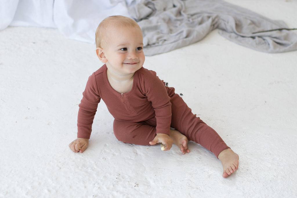 Baby's will feel warm and cosy in our soft and luxurious ranges of swaddles, sleeping bags and gowns, cot quilts, floor mats, blankets and more. We have a variety of organic fabric products for you to choose from. You will love our curated, quality and beautifully range of products to choose from in store and online.