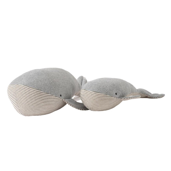 The Country Providore has a variety of Citta Design soft toys to choose from like Baby Wilfred The Whale for a little animal lover. This sea animal is so soft, snuggly and comforting for a baby or child. Soft toys make a great gift for a baby shower, or if you're looking for something for your own baby nursery. Available in NZ, in store or online.