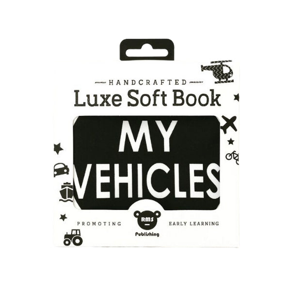 My Family Books - Luxe Soft Books like My Vehicles & My Animals are a beautifully soft book full of Shapes to captivate and engage your baby and toddlers while promoting early learning! Our ranges are selected for little ones to enjoy story time with a loved one. Books make a great gift for baby showers, birthdays or any special occasion! Shipping in NZ