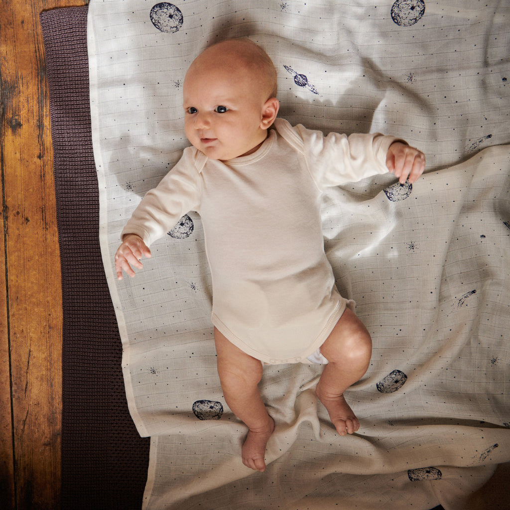 Baby's will feel warm and cosy in every season with our soft and luxurious ranges of swaddles, sleeping bags, blankets and more. We have a variety of organic cotton muslin wraps. You will love our curated, quality and beautifully range of products to choose from in store and online. Shipping available in NZ.