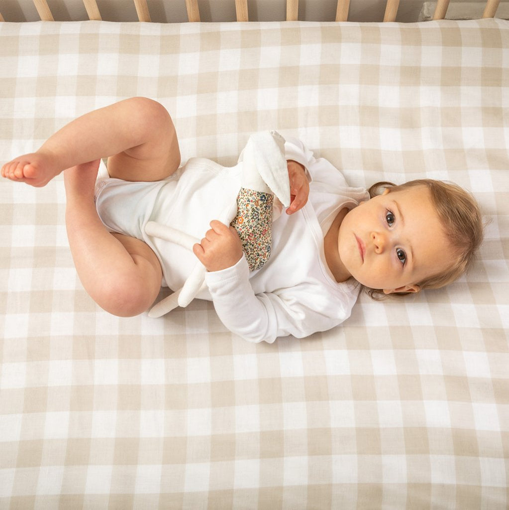 Little ones will feel warm and cosy in every season with our soft and luxurious ranges of swaddles, sleeping bags, comforters and quilts from Burrow & Be, Eddy & Moss, Nature Baby and more. Our varity of organic cot fitted sheets made from breathable organic Muslin or comfortable cotton sheets. You will love our curated, quality and beautifully range of products to choose from instore and online. Shipping available in NZ.