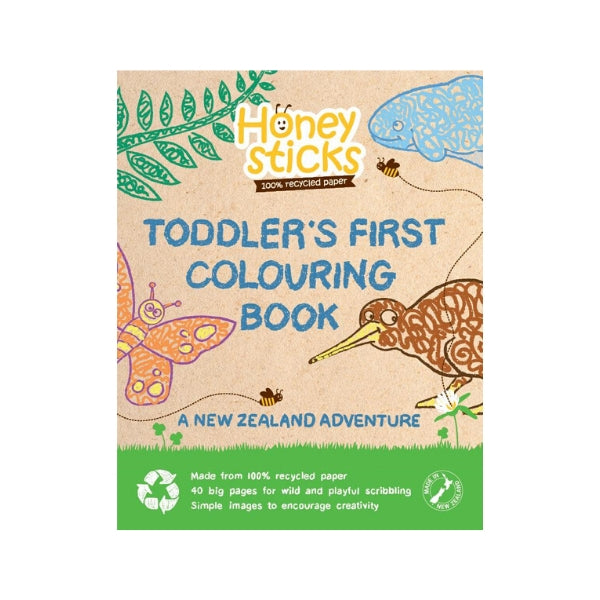 The Country Providore New Zealand has a range of Art & Crafts Supplies for Kids – Colouring in book for toddlers and Honeysticks Crayons that are made with 100% natural non-toxic food grade ingredients. Shipping available in NZ.