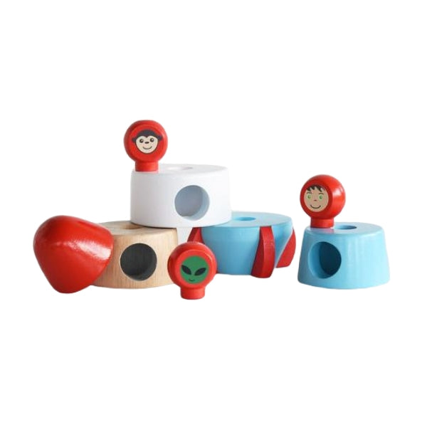 The Country Providore New Zealand has a wide range of Educational Kids Toys – wooden toys like Wooden Magnetic Stacking Rocket by Discoveroo, bath toys, books, natural Honey Sticks to draw with, soft toys, jellycat, learning books, black and white books for great learning for Children. Shipping in NZ.