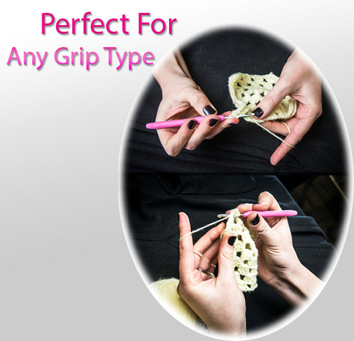 Perfect for any grip - Pencil OR Knife Grip