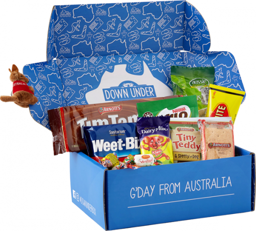 New Box, New Website & New Aussie Treats - The Ultimate Aussie Care Package