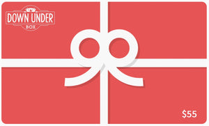 Down Under Box Gift Card