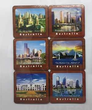 Aussie Cities Coaster Set
