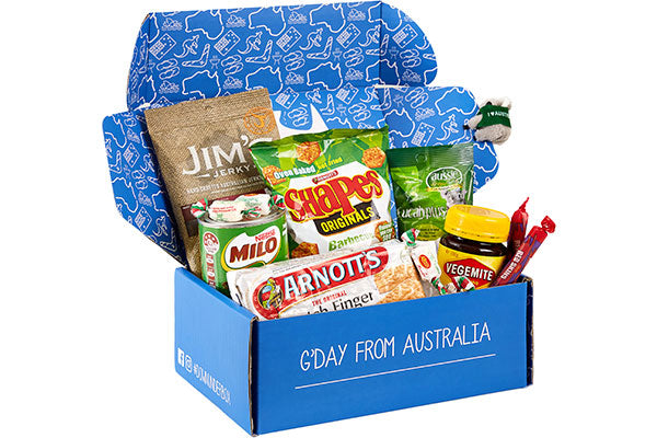 Australian Military Care Package Down Under Box