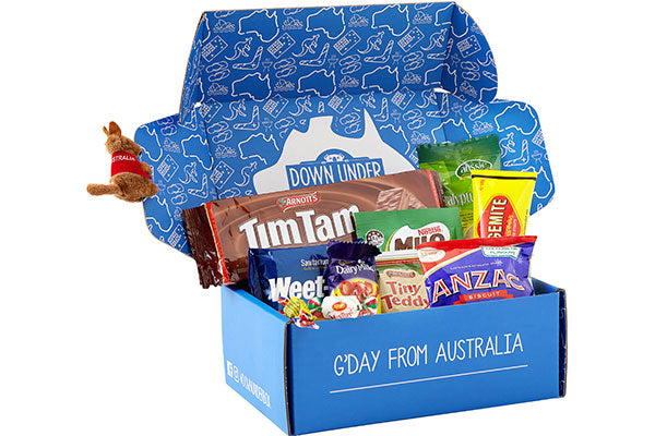 An Aussie Care Package For Any Occasion Down Under Box