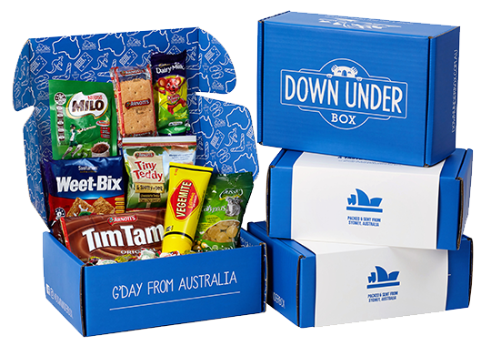 The Perfect Aussie Care Package Down Under Box