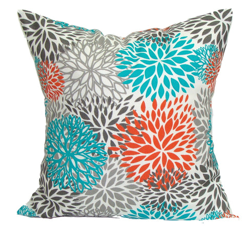 Floral Pillow. Outdoor Floral pillow covers ElemenOPillows Decorative Pillows, Pillows, Pillow Covers, Throw Pillows