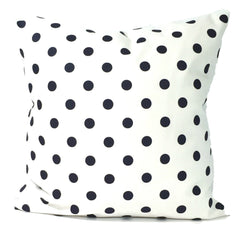 Polka Dot Pillow. Blue Pillow. ElemenOPillows Decorative Pillows, Pillows, Pillow Covers, Throw Pillows
