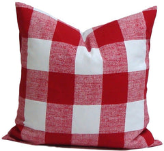 Christmas Pillow. Christmas Home Decor. Plaid Throw Pillows. Buffalo Check Pillow. ElemenOPillows,