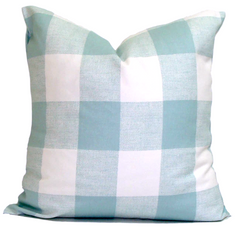 Aqua Pillow. Home Decor. Decorative Throw Pillows. ElemenOPillows,