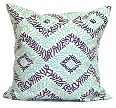 Blue pillows, aqua pillows, popular pillow ElemenOPillows