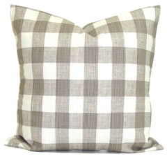 Farmhouse Decor, Home Decor, plaid pillow, farmhouse pillow, buffalo check pillow