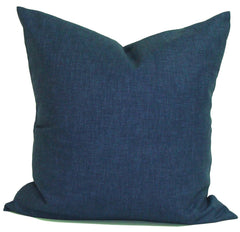 Solid Indigo Pillow. Solid Blue Pillow. Home Decor. Decorative Throw Pillows. ElemenOPillows,
