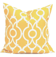 Yellow Pillow.Yellow Home Decor. Yellow Outdoor Pillow. Decorative Throw Pillows. ElemenOPillows,