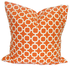 Outdoor Pillow. Orange Pillow. Outdoor Orange Pillow. Home Decor. Throw Pillows. ElemenOPillows,