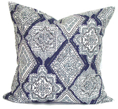 Indigo pillow, blue pillow covers ElemenOPillows Decorative Pillows, Pillows, Pillow Covers, Throw Pillows