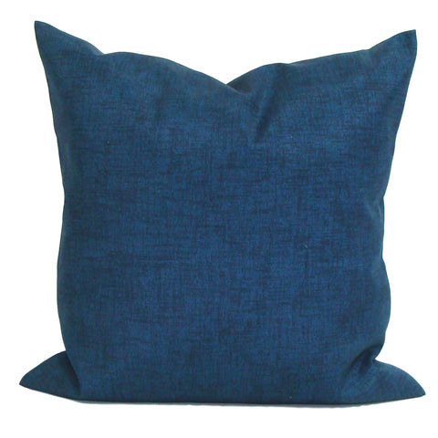 Solid Navy Pillow. Outdoor Blue Pillow covers ElemenOPillows Decorative Pillows, Pillows, Pillow Covers, Throw Pillows