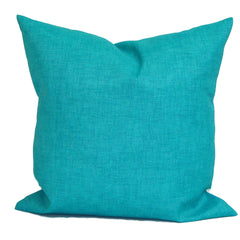Solid Aqua Pillow. Blue Outdoor Pillow ElemenOPillows Decorative Pillows, Pillows, Pillow Covers, Throw Pillows
