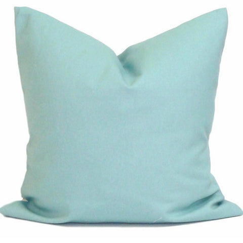 Solid Blue Pillow. Blue Home Decor. Decorative Throw Pillows. ElemenOPillows,