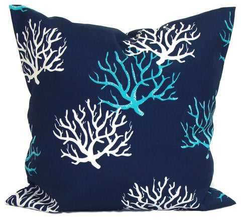 Nautical Decor. Nautical Pillow. Outdoor blue pillow covers ElemenOPillows Decorative Pillows, Pillows, Pillow Covers, Throw Pillows