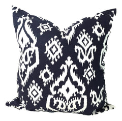 Navy Ikat Pillow.Blue Pillow. ElemenOPillows Decorative Pillows, Pillows, Pillow Covers, Throw Pillows