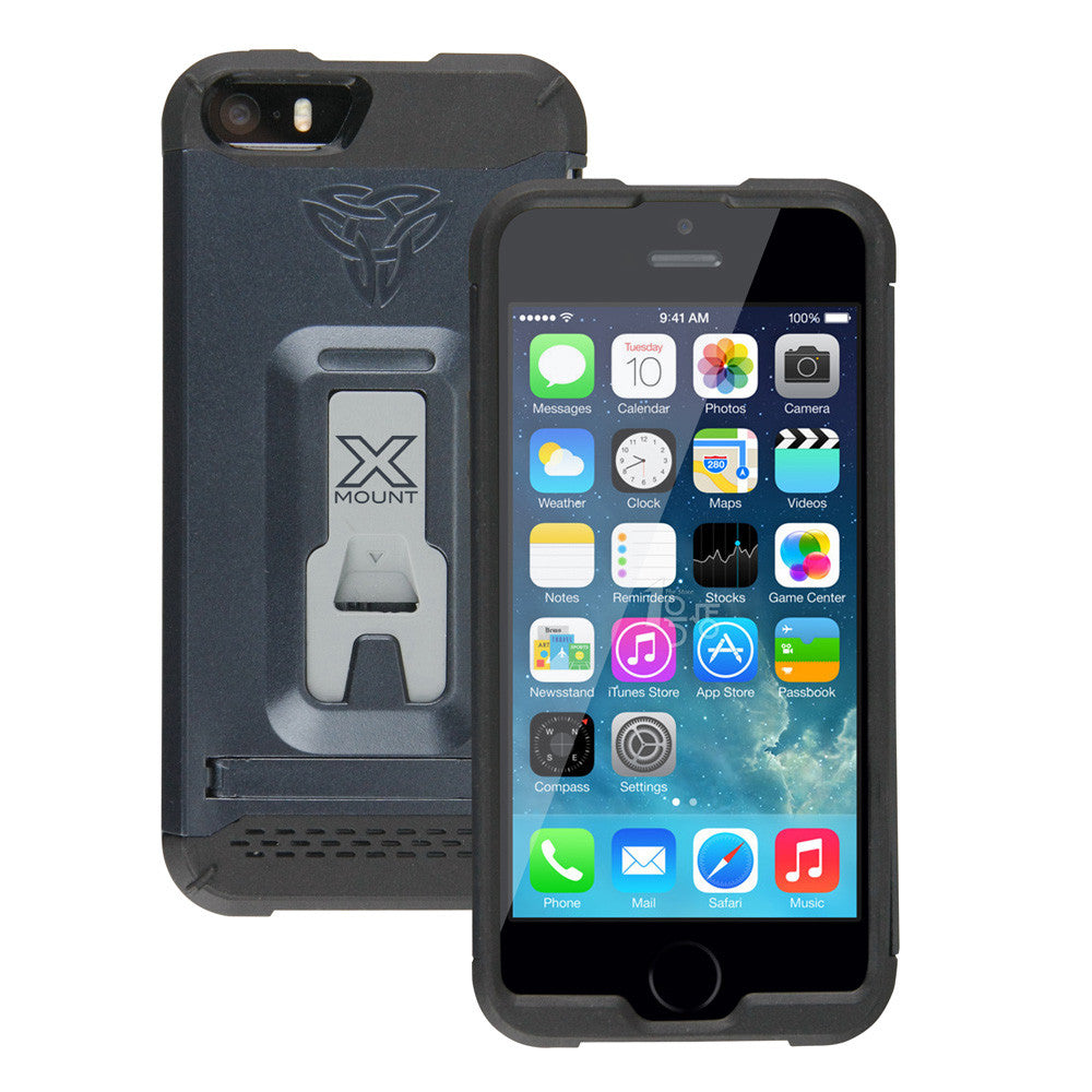 CX Mi5 Rugged Case For IPhone 5/5S Integrated X Mount System.