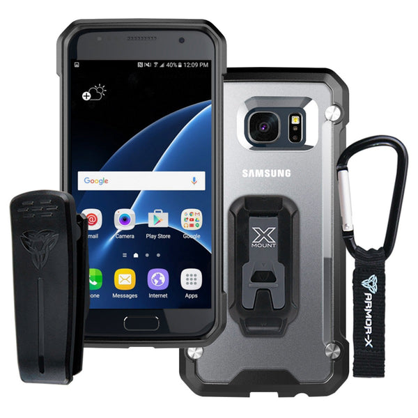 cheaper 59e1f 9ba26 BT-S7-BK SAMSUNG GALAXY S7 PROTECTIVE CASE WITH CARABINER