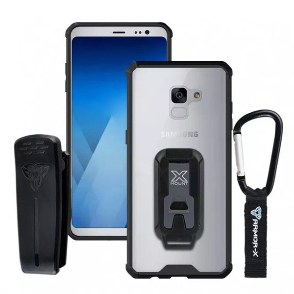 check out 1e86d 6dd25 BX3-A8P_8 | SAMSUNG GALAXY A8 PLUS ( 2018 ) | SHOCKPROOF RUGGED CASE +  CARABINER