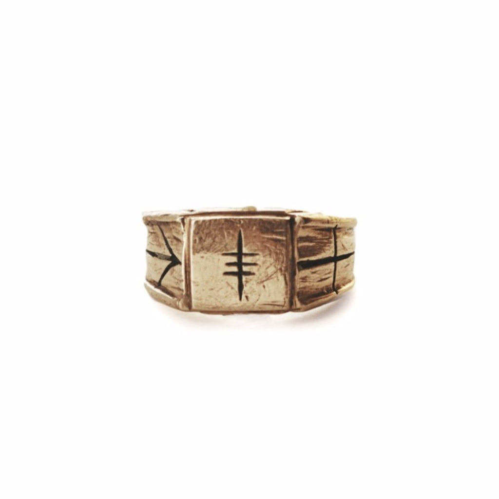"SV Signet Ring - ""Amplifier"""