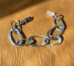TAXCO Silver chunky chain bracelet