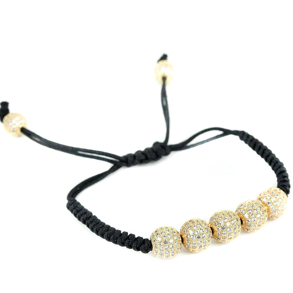 Modalooks-18K-Gold-Plated-CZ-Diamonds-10mm-Beads-Macrame-Bracelet-Side