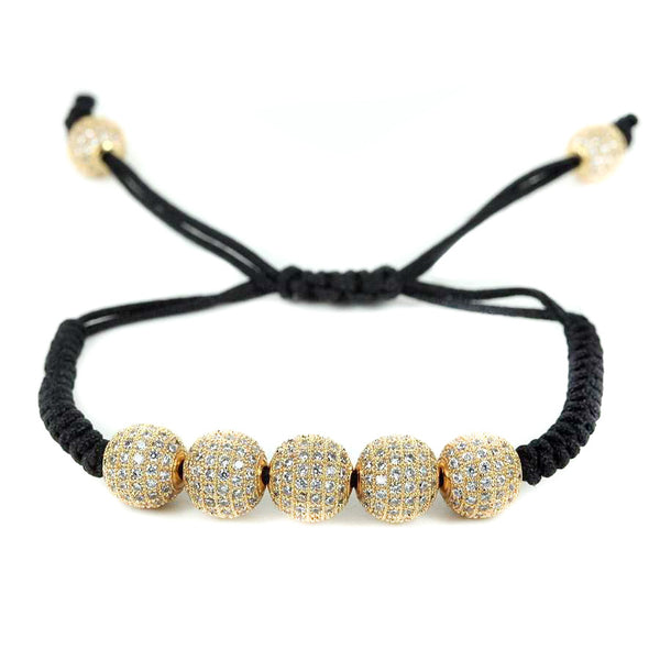 Modalooks-18K-Gold-Plated-CZ-Diamonds-10mm-Beads-Macrame-Bracelet