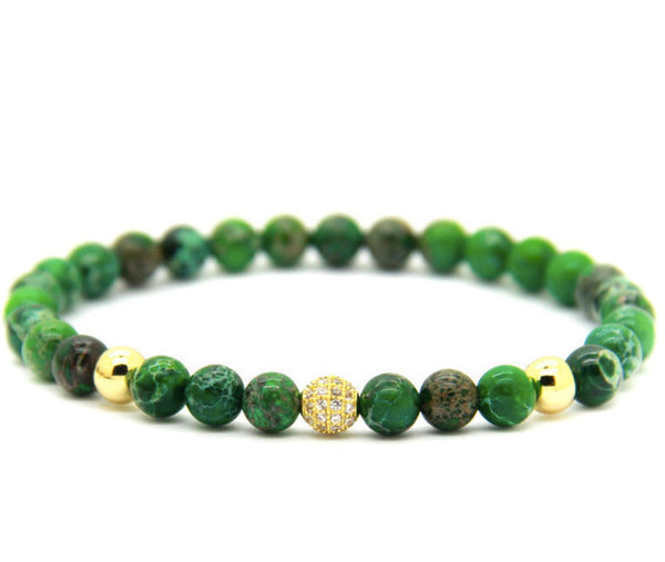 Modalooks-18K-Gold-Sea-Green-Sediment-CZ-Beads-Bracelet