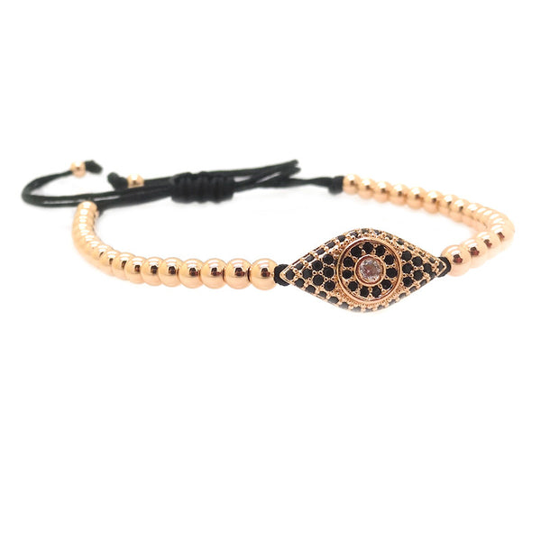Modalooks-18K-Rose-Gold-Plated-Cat-Eye-CZ-4mm-Balls-Macrame-Bracelet-Side
