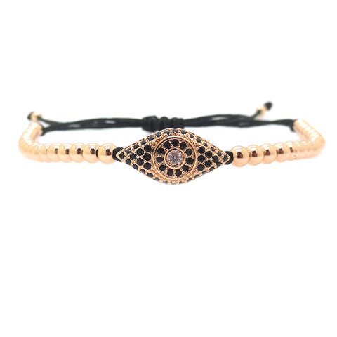 Modalooks-18K-Rose-Gold-Plated-Cat-Eye-CZ-4mm-Balls-Macrame-Bracelet