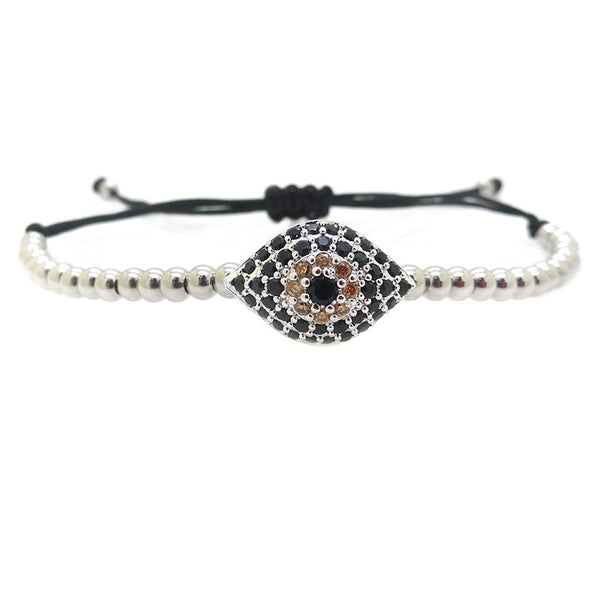 Modalooks-18K-White-Gold-Plated-Evil-Eye-CZ-4mm-Balls-Macrame-Bracelet