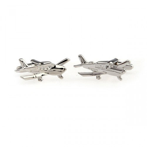 Light-sport-aircraft-Silver-Modalooks-Cufflinks-2